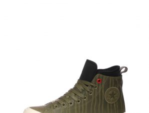 CONVERSE – Ανδρικά ψηλά sneakers CONVERSE Chuck Taylor AS WP Boot Hi χακί