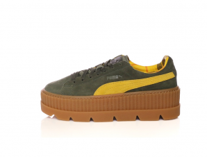 PUMA – Γυναικεία sneakers PUMA Cleated CreeperSuede χακί