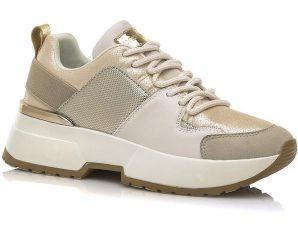 Χρυσό sneaker MariaMare 67615