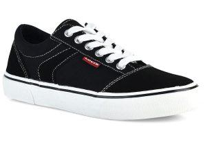 Μαύρο εφηβικό sneaker Levi`s VNYC0003T